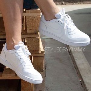 🌸 NIKE EBERNON White Sneakers Shoes New